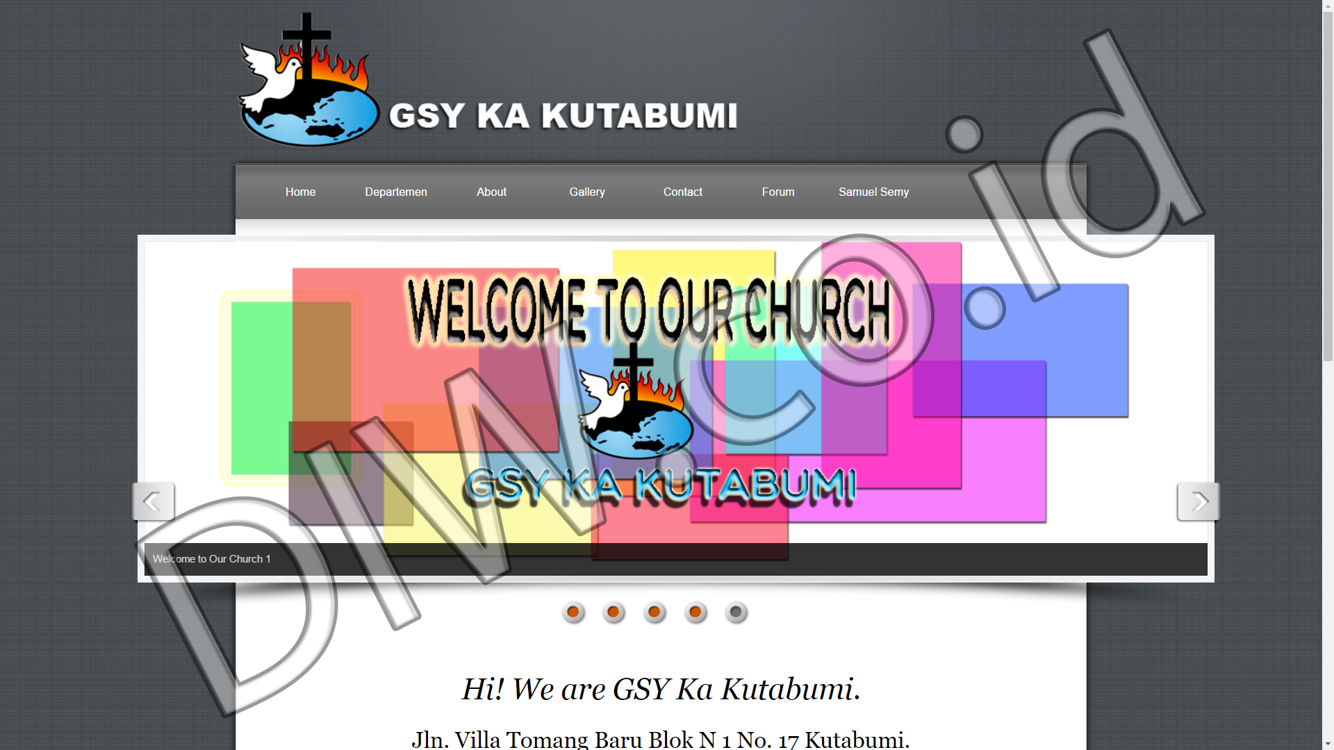 Portfolio 1 - GSY KA Kutabumi - Andri Sunardi - Freelancer - Web Developer - CEO DIW.co.id