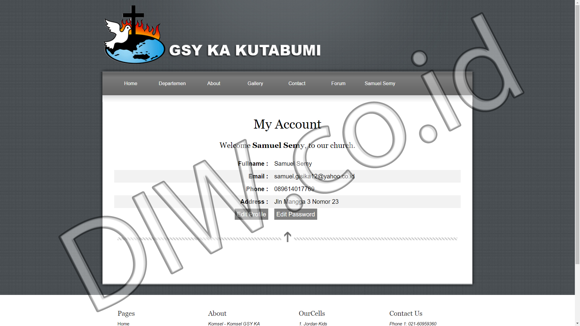 Portfolio 4 - GSY KA Kutabumi - Andri Sunardi - Freelancer - Web Developer - CEO DIW.co.id