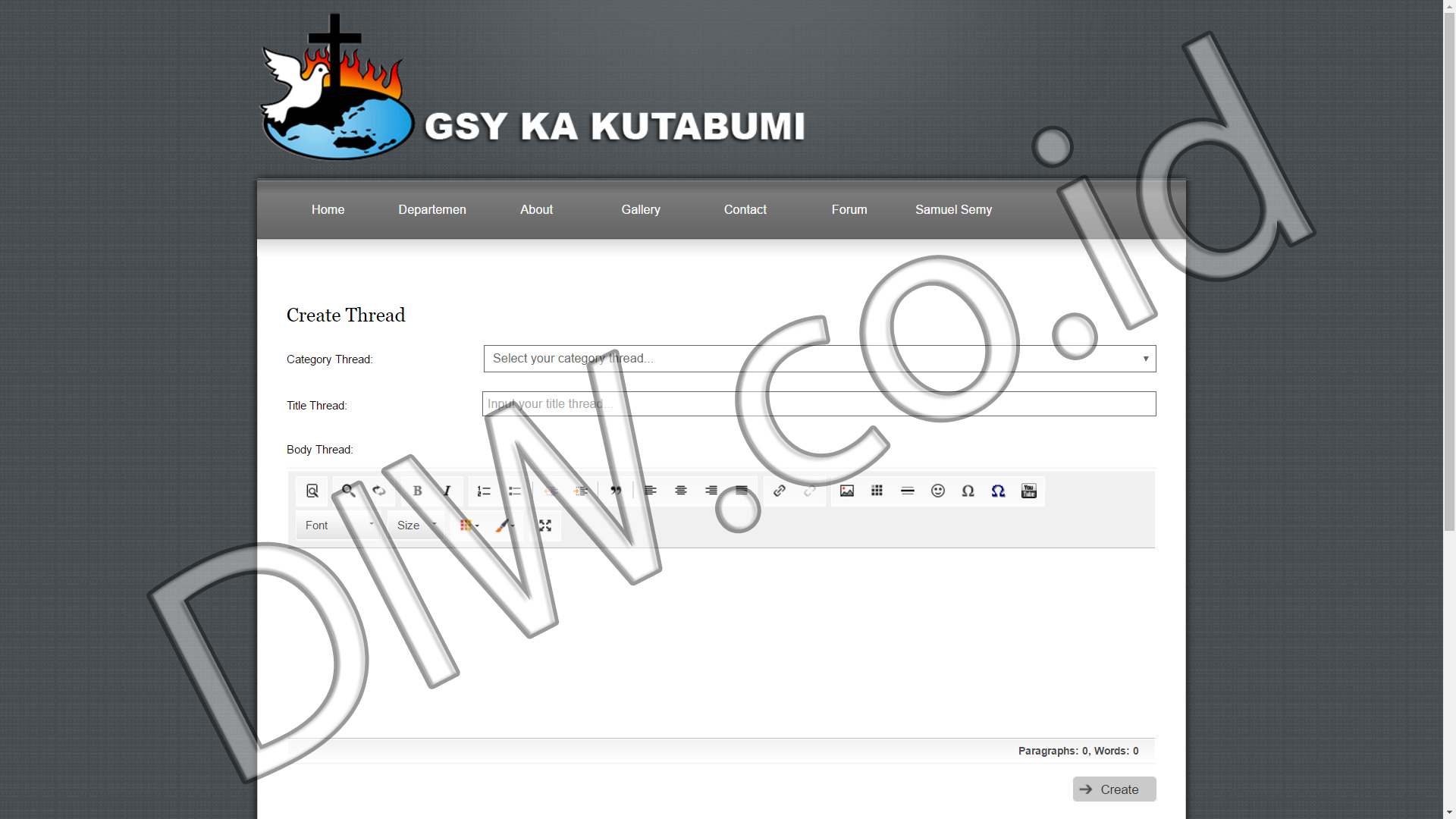 Portfolio 5 - GSY KA Kutabumi - Andri Sunardi - Freelancer - Web Developer - CEO DIW.co.id