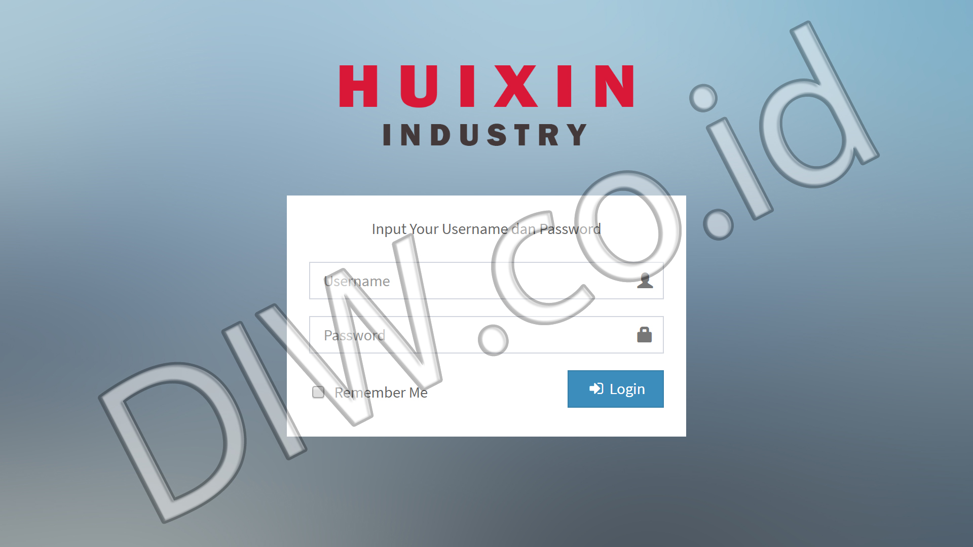 Portfolio 1 - Hui Xin Industry - Andri Sunardi - Freelancer - Web Developer - CEO DIW.co.id