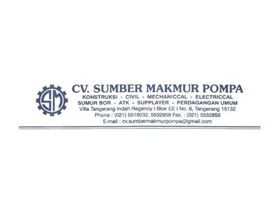 Portfolio - CV Sumber Makmur Pompa - Andri Sunardi - Freelancer - Web Developer - CEO DIW.co.id