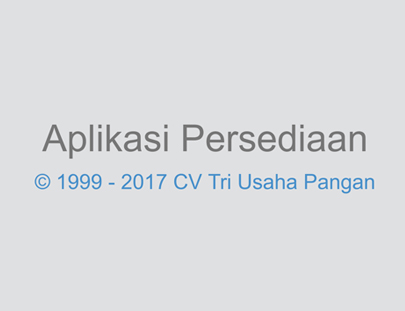 Portfolio - CV Tri Usaha Pangan - Andri Sunardi - Freelancer - Web Developer - CEO DIW.co.id