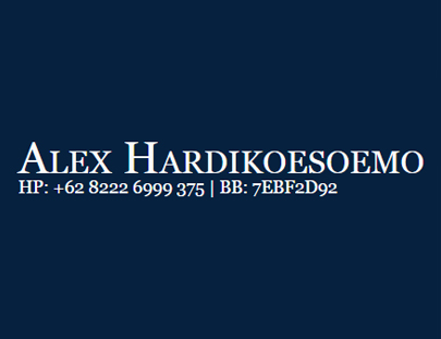 Portfolio - Alex Hardikoesoemo - Andri Sunardi - Freelancer - Web Developer - CEO DIW.co.id