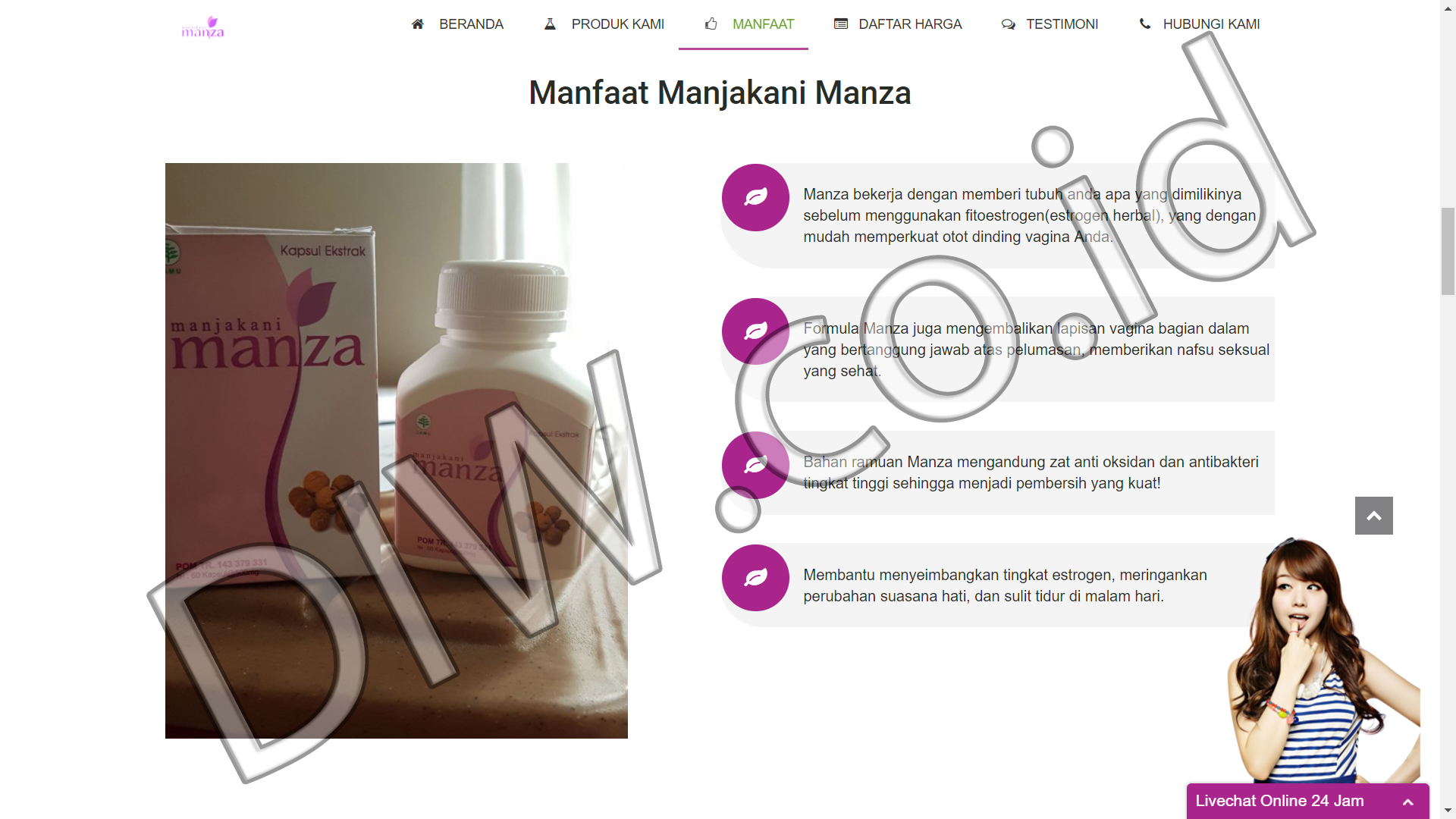 Portfolio 3 - Manjakani Manza - Andri Sunardi - Freelancer - Web Developer - CEO DIW.co.id